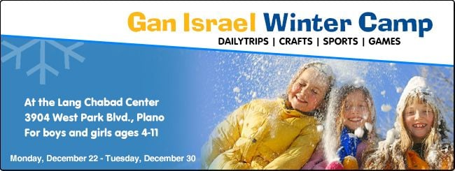 Winter Camp with Chabad of Plano